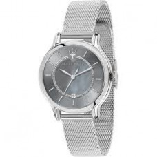 Maserati Watch EPOCA 34mm SH Gray MOP Dial Mesh BR_R8853118508