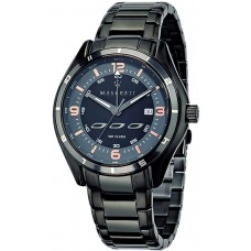 Maserati Watch 45mm GMT Blk Dial BR_R8853124001