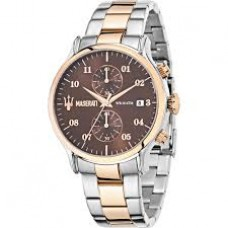 Maserati watch Epoca 42mm CHR Brown dial_R8873618001