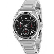Maserati Watch 41mm CHR Black Dial BR SS_R8873632003