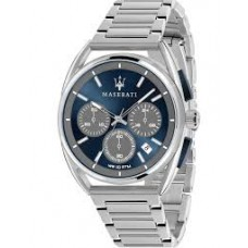 Maserati Watch 41mm CHR Blue n Gray Dial_R8873632004
