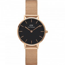 Daniel Wellington_Petite 28 Melrose RG Black_WATCH_DW00100217