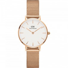Daniel Wellington_Petite 28 Melrose RG White_WATCH_DW00100219