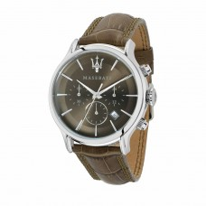 Maserati Watch EPOCA Ext 42mm CHR Brown Dial Brown ST_R8871618009